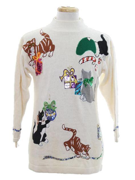 cat tastic sweater p galli unisex winter