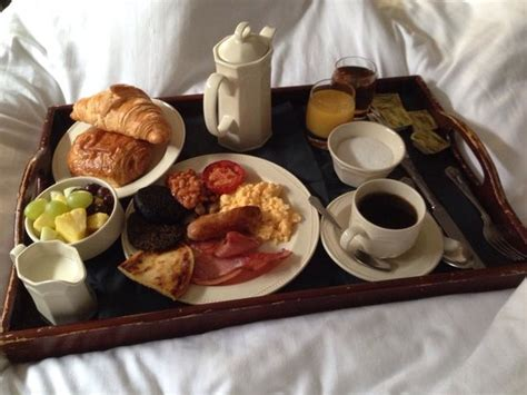 Breakfast In Bed breakfast in bed picture of the dunstane hotel edinburgh tripadvisor