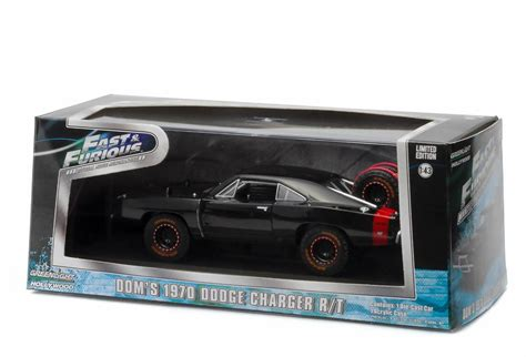 Greenlight 1 43 Dodge Charger The Fast And The Furius 2001 Promo greenlight fast and furious 7 1970 dodge charger r t