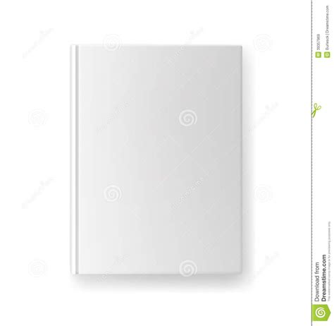 cover image template blank book cover template stock vector image 39357969