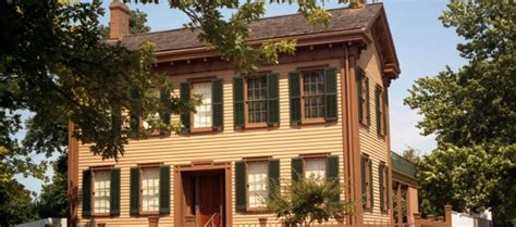 lincoln home national historic site travelthepast com abraham lincoln museums an overview