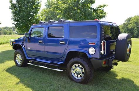 Hummer H2 Limited Edition by Buy Used 2006 Hummer H2 Limited Edition Low Almost