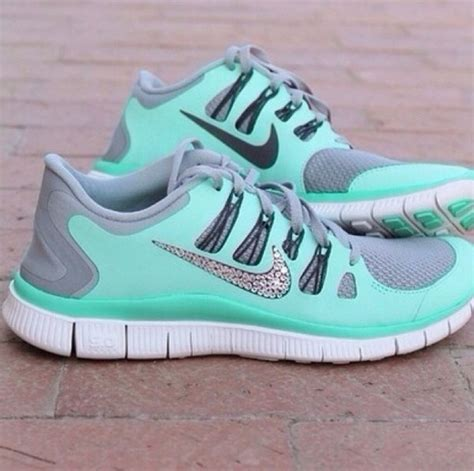 nike sparkle running shoes shoes nike glitter sparkles aqua sea green