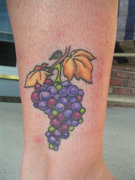grape tattoo designs 110 best images about wine on glasses