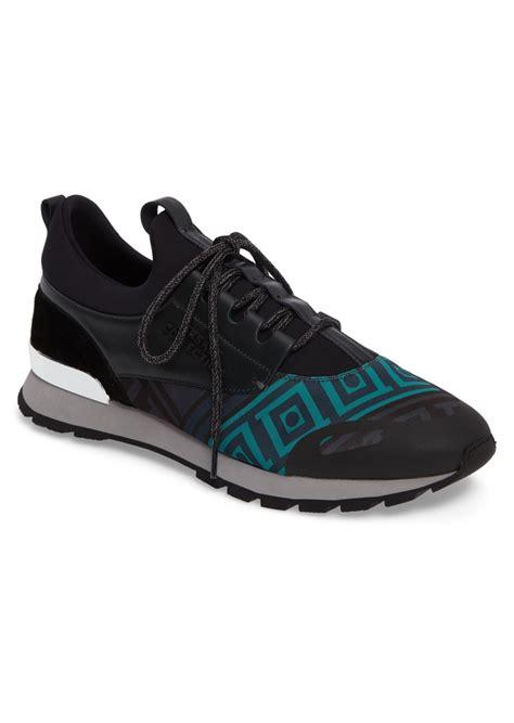 versace sneakers mens versace versace collection geometric sock sneaker