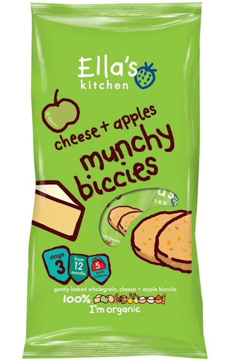 Ella Kitchen by Ella S Kitchen Munchy Biccies Cheese Apple Pk Of 5