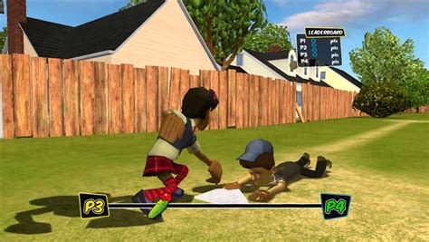 backyard sports sandlot sluggers xbox 360 amazon com backyard sports sandlot sluggers xbox 360