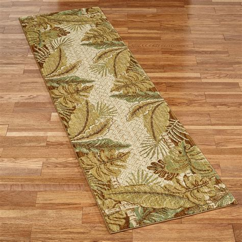 tropical runner rug paradise cove stain resistant tropical area rugs