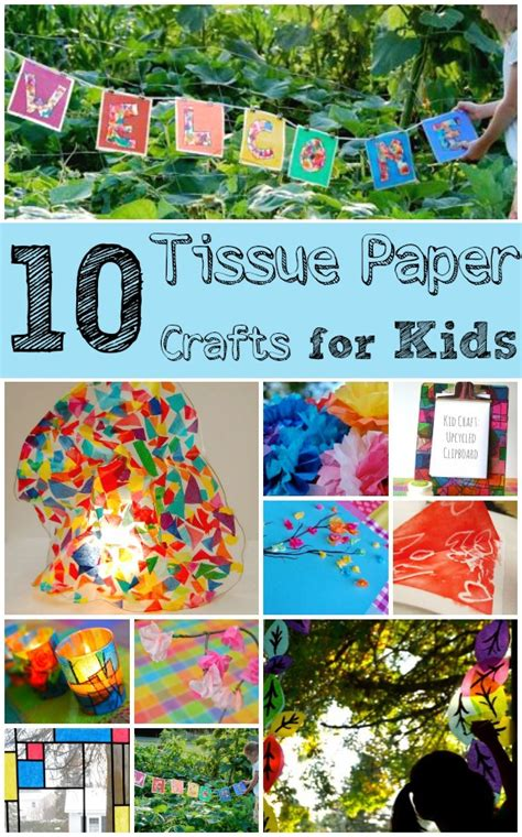 Tissue Paper Crafts For Toddlers - tissue paper crafts for inner child