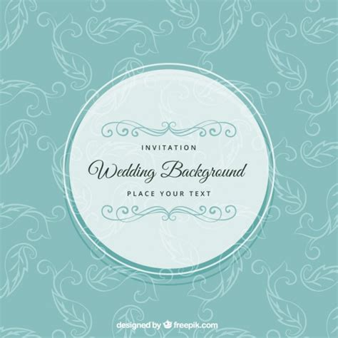 Wedding Background Freepik by Wedding Background In Retro Style Vector Free