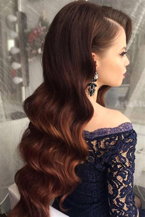 Wedding Evening Hairstyles by Best 25 Prom Hairstyles Ideas On Formal