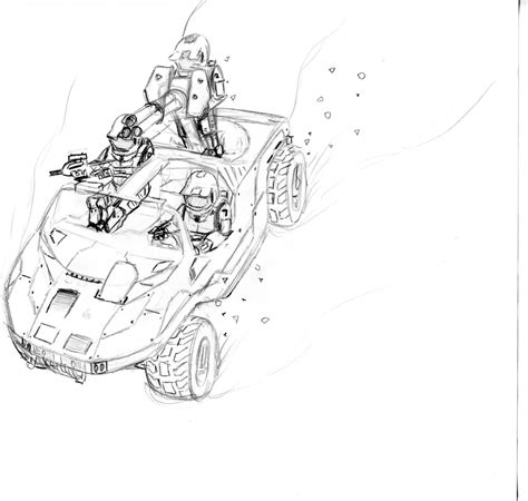 halo warthog drawing description thj warthog jpg