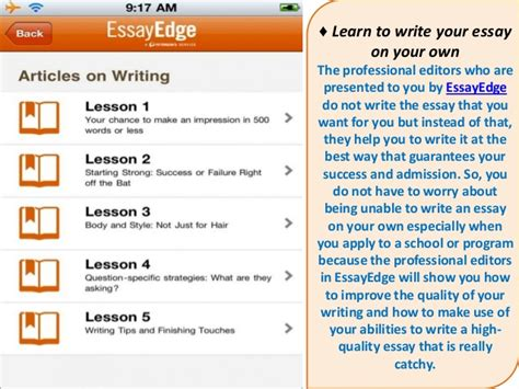 Admission Essay Editing Service by Essayedge Admissions Essay Editing Service How To Get My College Essay Reviewed Quora