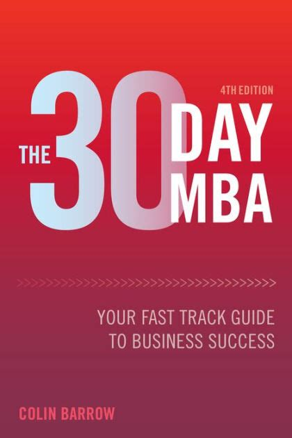 Fast Track Mba From Symbiosis by The 30 Day Mba Your Fast Track Guide To Business Success