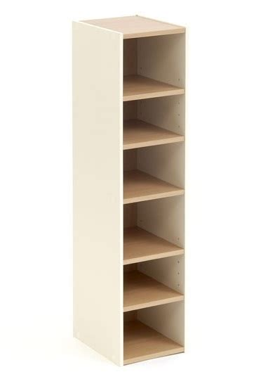 Narrow Shoe Storage Cabinet Shoe Storage Cupboard Tower Open Beech 6 Shelf Narrow Cabinet Ebay