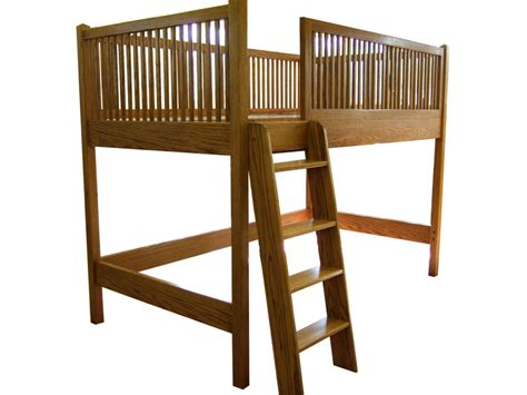 Oak Bunk Beds With Desk Oak Loft Bed