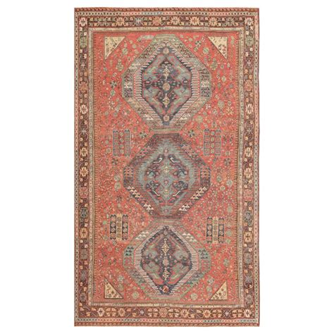 flat weave tribal rugs antique tribal caucasian soumak flat woven rug at 1stdibs