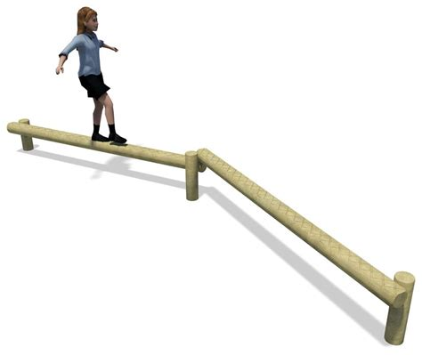 balance beam coordination and balance timber