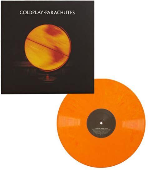coldplay x and y vinyl parachutes barnes noble exclusive orange vinyl by