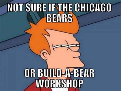 Chicago Bears Memes - fans can t bear it anymore find funny ways to vent online