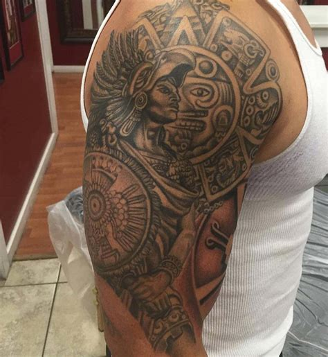 aztec sleeve tattoos designs 24 aztec designs ideas design trends premium