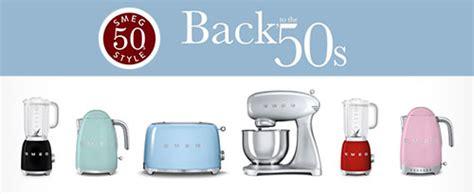 Retro Kettle And Toaster Small Domestic Appliances Smeg Com