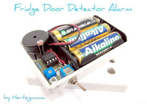 Refrigerator Door Open Alarm by Fridge Door Detector Alarm Do It Yourself