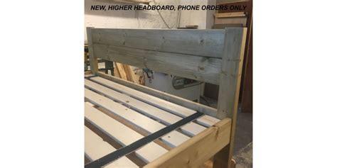 futon headboard new headboard cottage futon bed