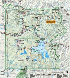 map of america yellowstone national park yellowstone national park