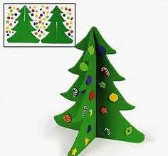 kids christmas tree craft rainforest islands ferry