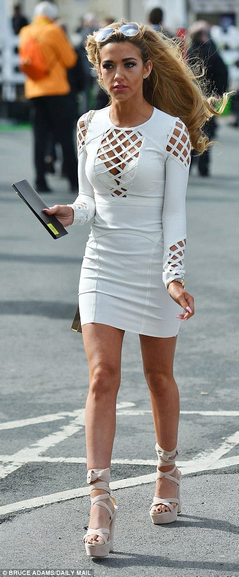 Dress Of The Day Tufi Duek Lattice Chest Swing Dress by Breaking News Let Racegoers End