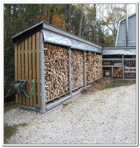 wood shed ideas  pinterest wood store shed