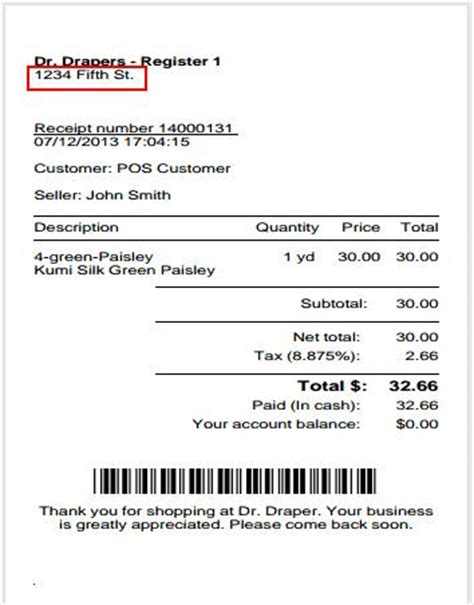Can Gift Cards Be Returned With A Receipt - how do i modify erply s receipt template