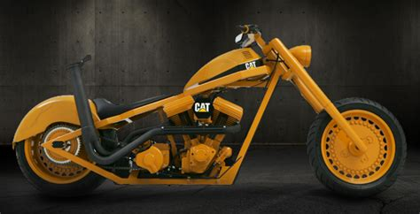 Occ Motorrad by Caterpillar Bike By Orange County Choppers Custom