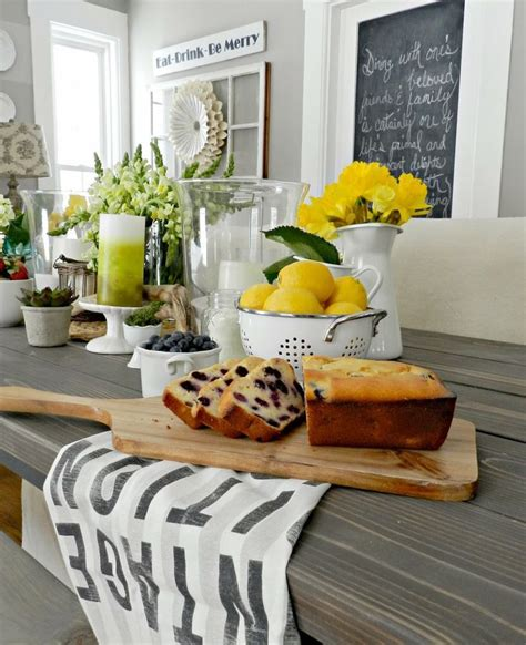 ideas for kitchen decorating themes 39 inspiring spring kitchen d 233 cor ideas digsdigs