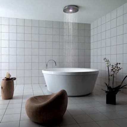 rain shower bathtub funky interior geo 180 rain shower tub