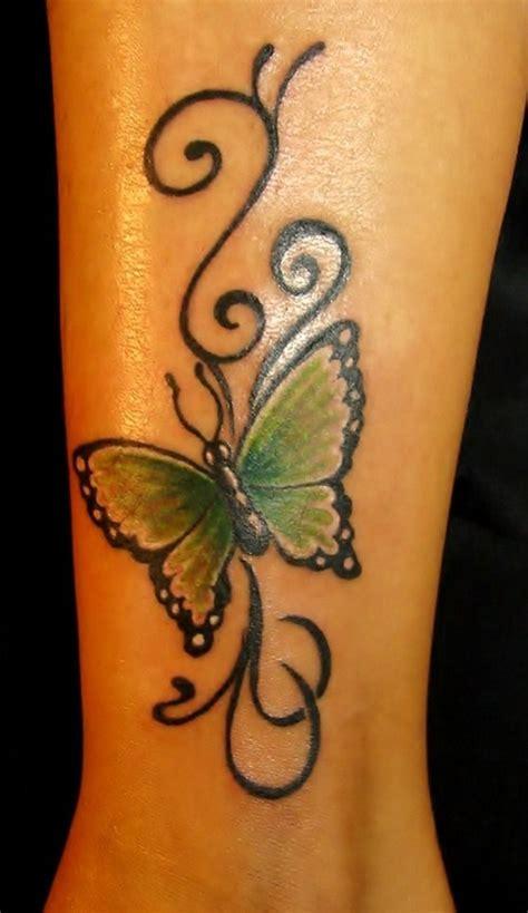 tattoo butterfly leg tribal green butterfly tattoo on leg tattooshunt com