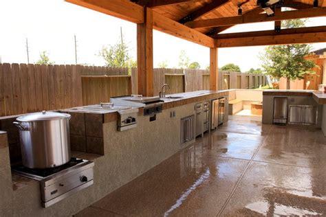 Outdoor Kitchens Houston by Houston Outdoor Kitchen Gallery Richard S Total Backyard