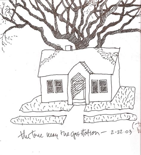 house tree person house tree person drawing house with treeboth now images frompo