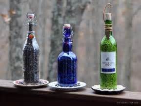 rebecca bird gardens diy wine bottle bird feeders