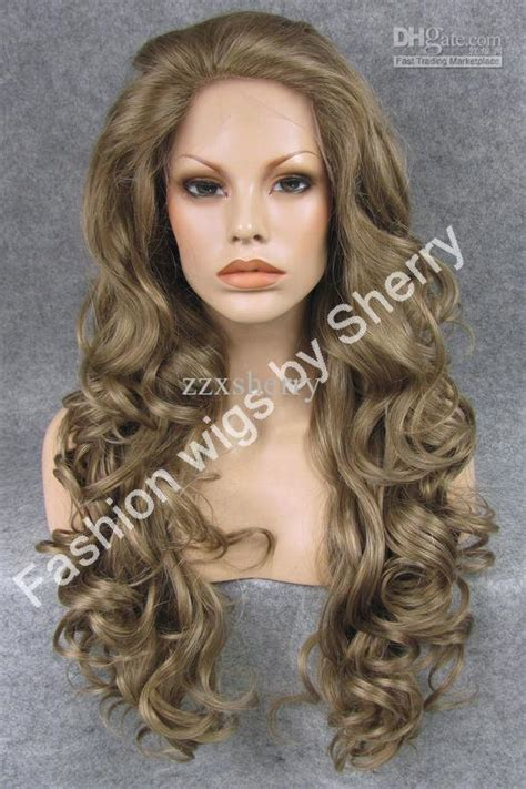 brown long hair with grey aroung front 26 long 16 8 mix grey brown heavy density heat safe front
