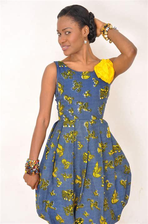 ghana african dresses ebi bright sparkles in african fabric ghanashowbiz