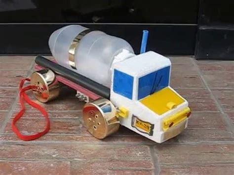 con que materiales reciclables puedo hacer una maqueta de volcan maqueta escolar medio de transporte terrestre camion