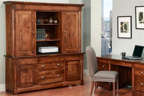 hudson valley credenza with hutch handstone office furniture