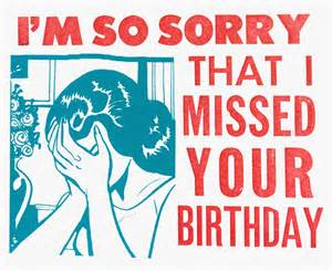 i m so sorry i missed your birthday steam whistle letterpress