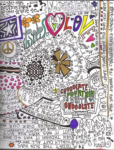 doodle journal 1000 images about wanna color on coloring