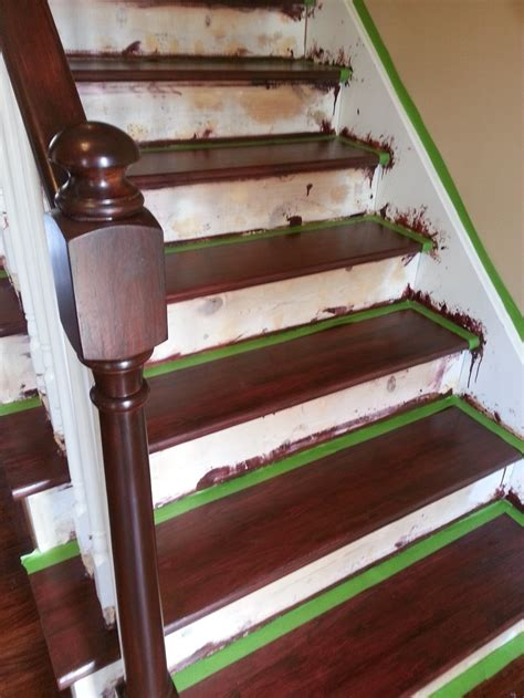 Decorating Banisters 1000 Images About Stairs On Pinterest No Sanding Java