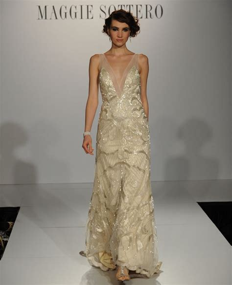 deco wedding gowns 6 deco wedding dresses from maggie sottero