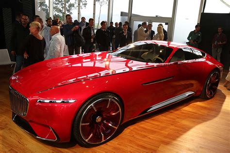 vision mercedes maybach 6 looks back at the future