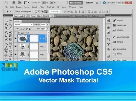 tutorial adobe photoshop cs5 for beginners adobe photoshop cs5 vector mask tutorial how to use